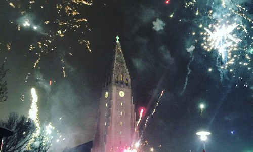 I Love The Smell Of Fireworks In The Morning: New Year In Reykjavík