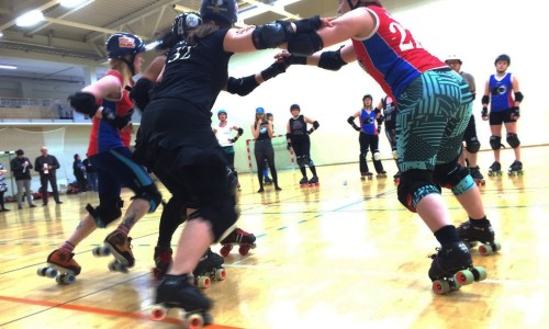Blood, Sweat And Tackles – A Roller Derby Girl's Diary