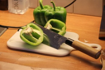 Green Pepper Goulash