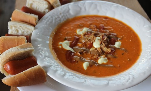 Soup Tuesday: Icelandic Hotdog Soup, THE ULTIMATE HANGOVER CURE