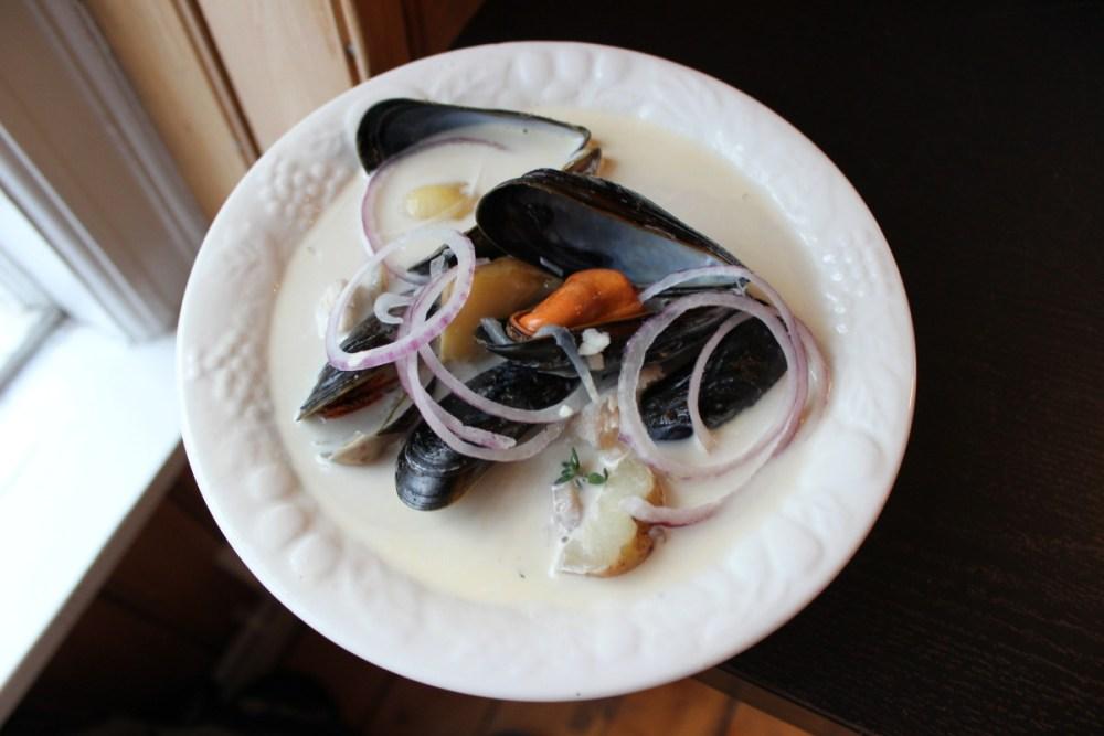 Soup Tuesday: Kræklingasúpa, Icelandic Mussels Soup