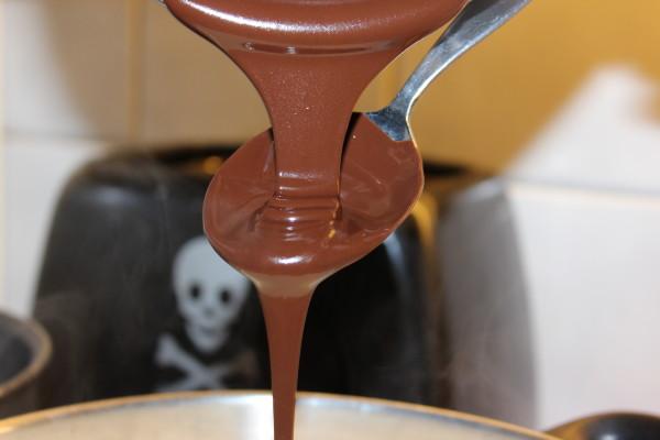 Chocolate Pour Kakósúpa