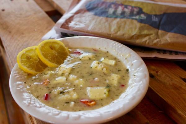 Lazy Greek Soup