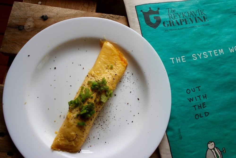 THE SKYR CHRONICLES: Skyr Omelette, Power Breakfast