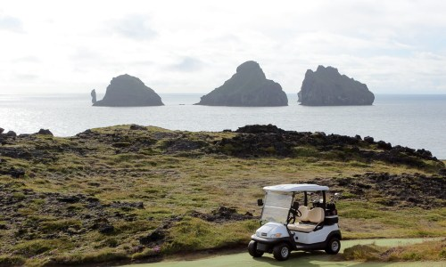 Golf In The Westman Islands: Being Angry and Frustrated In A Beautiful Place