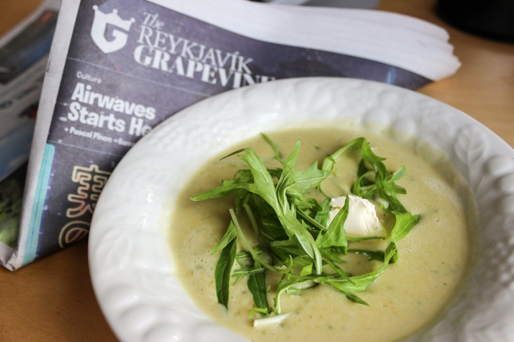 SOUP TUESDAY: Autumn Greens, Pea And Lovage Soup
