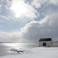 A brief moment of nice weather in Egilsstaðir