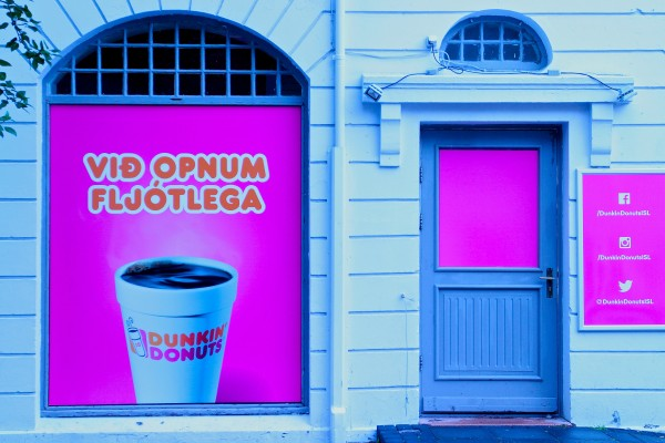 Dunkin Donuts Iceland, by Shawn Forno