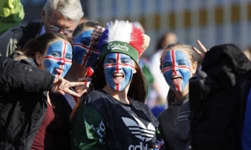 Icelandic Football Fans Nominated Award For Chant