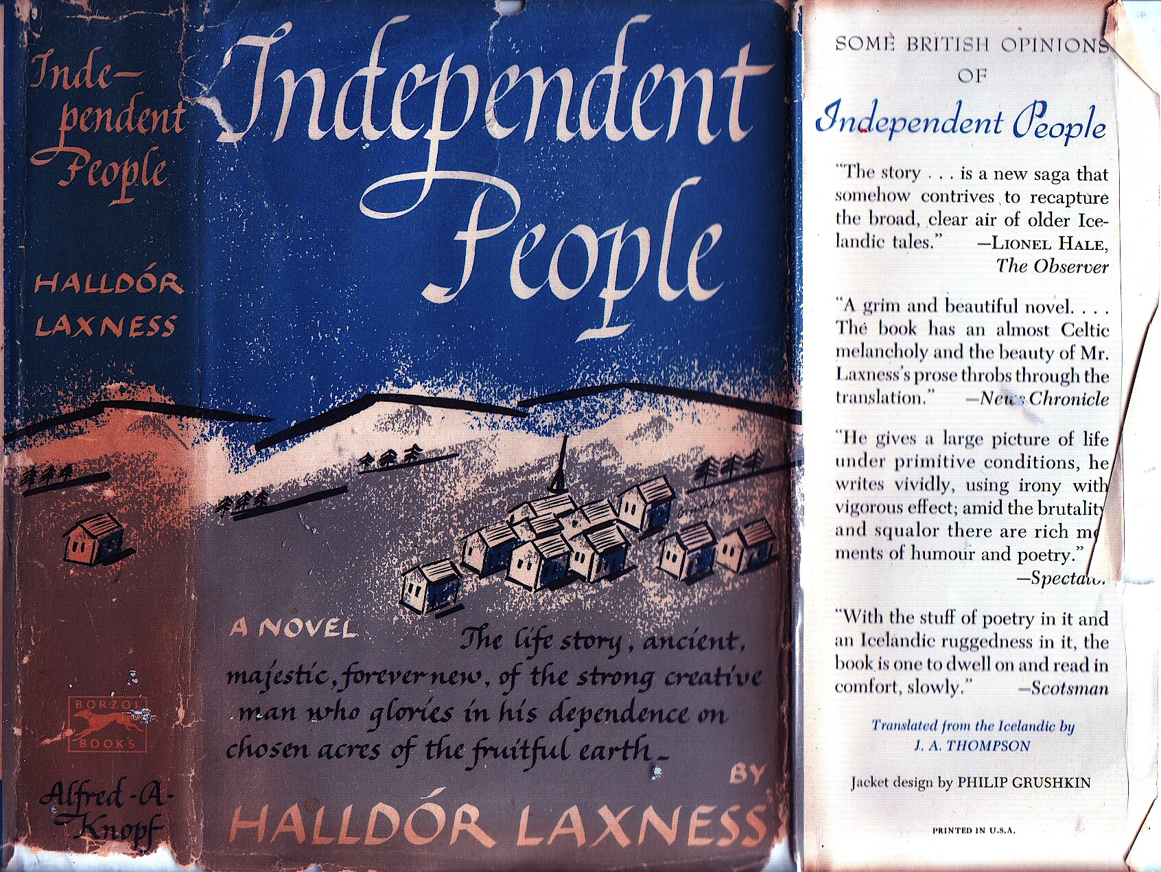 Do Not Praise That POS Bjartur: Independent People, Reviewed