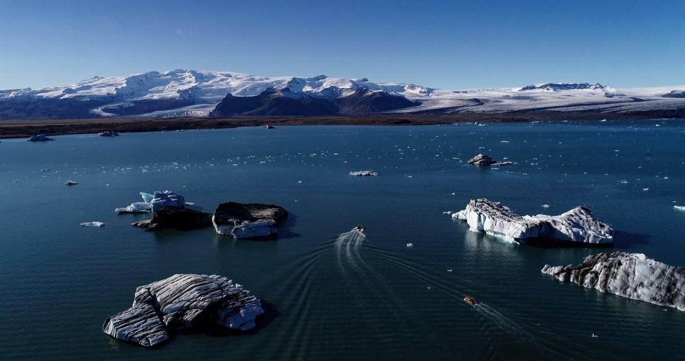 Sparkling Diamonds in a Glacial Lagoon: A Journey To Jökulsárlón