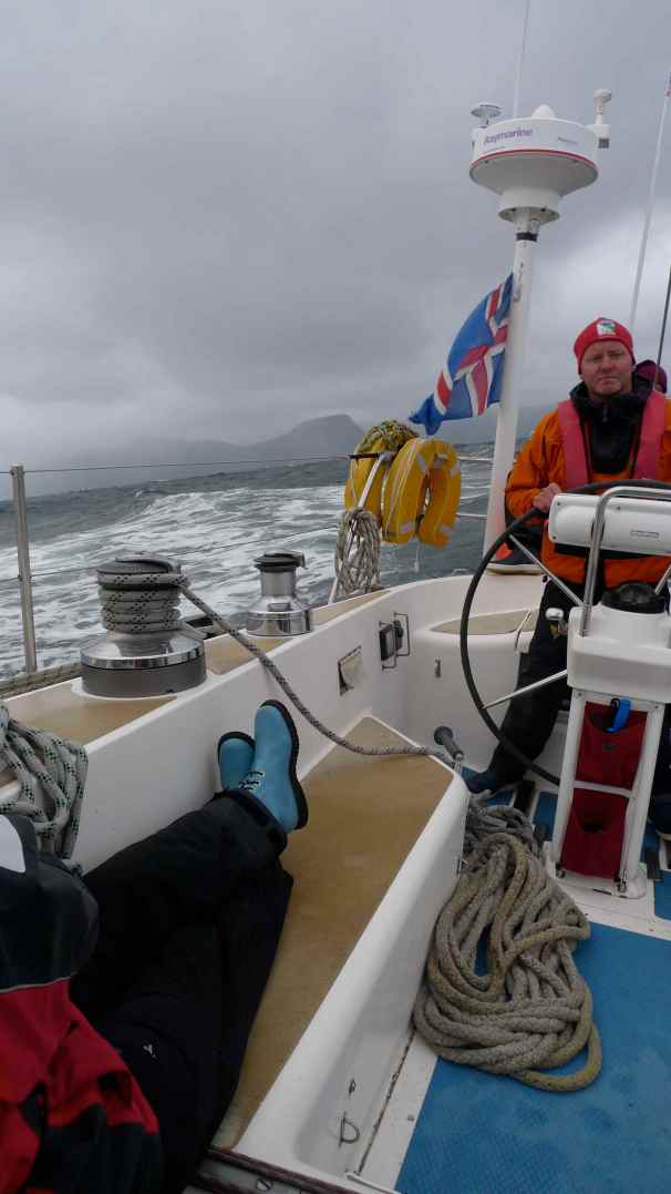 Leaving Faroes Marc Vicenz