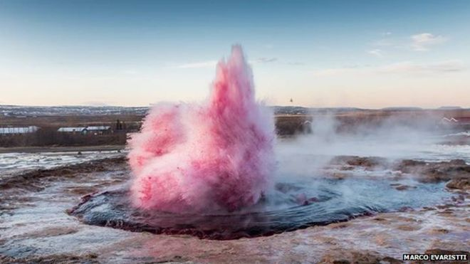 Why Is Everyone So Angry About That Pink Geyser?