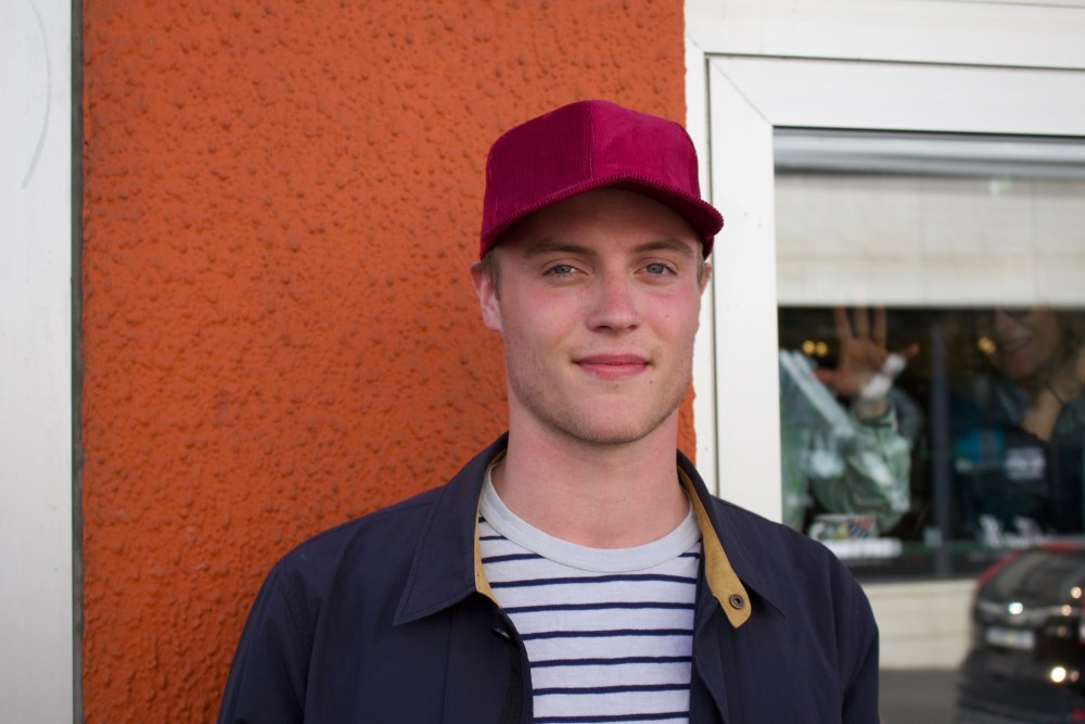 Faces Of Reykjavík: Húbert Óðinn Huntingdon Williams