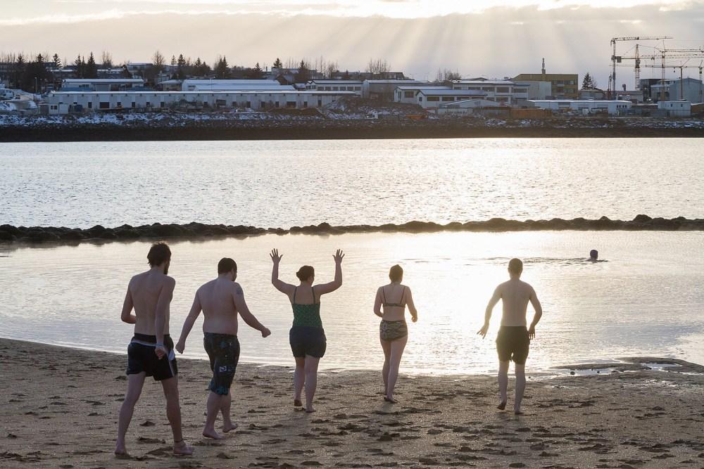 Photos: Winter Swimming In Reykjavík