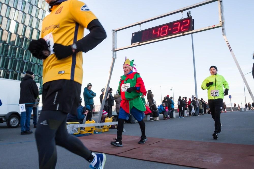 PHOTOS: Reykjavík's New Year's Run