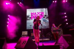Major Pink at Harpa