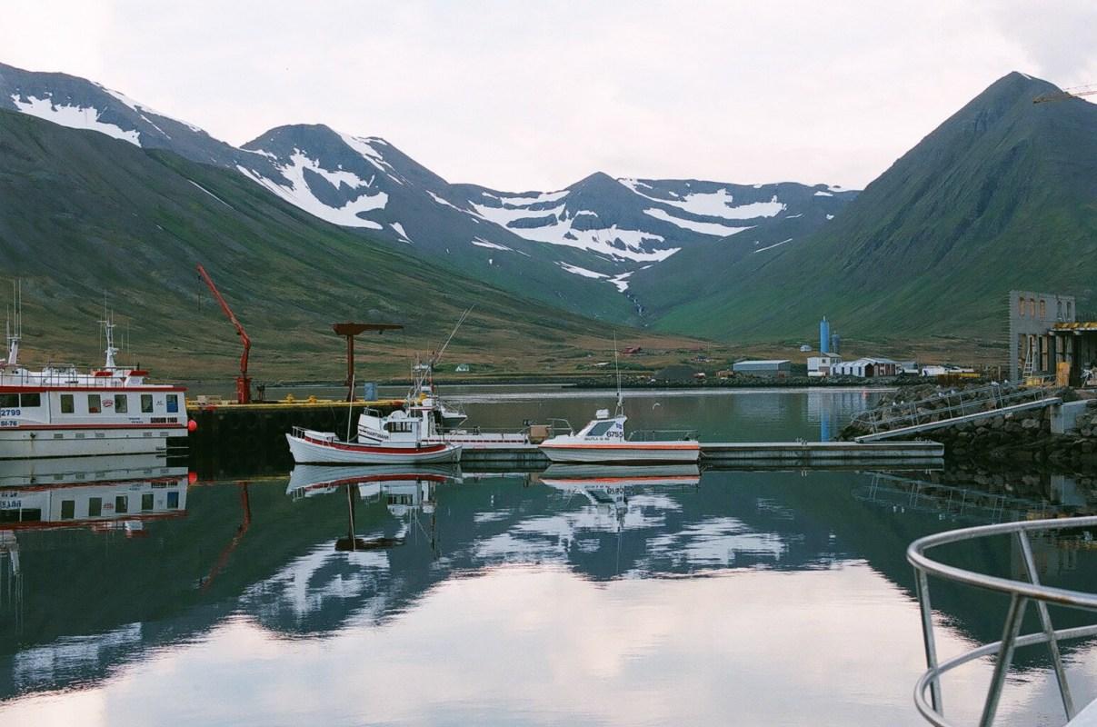 Hestskarðshnjúkur: Unique Fjord Scenery