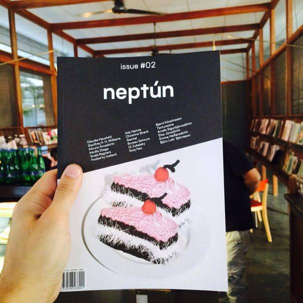 'Neptún Print Journal' Created by Helga Kjerúlf, Ágústa Arnardóttir and Kolbrún Löve
