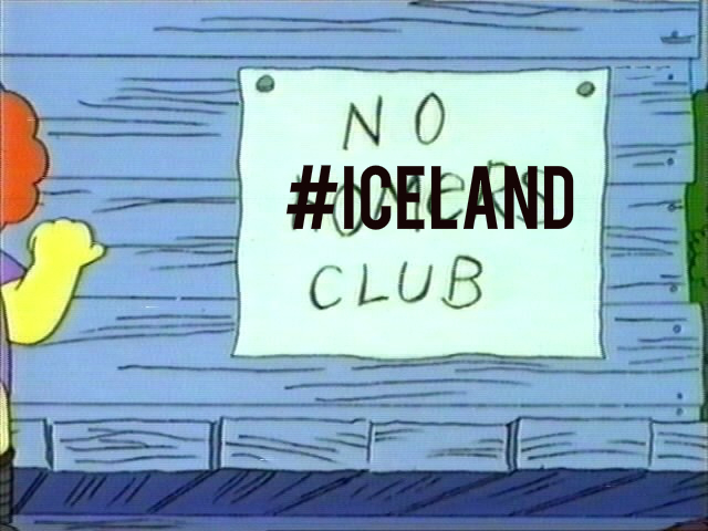 #Iceland Doesn't Exist On Twitter And That Sucks