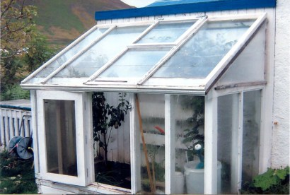 Sigurður's greenhouse, courtesy of BB.is