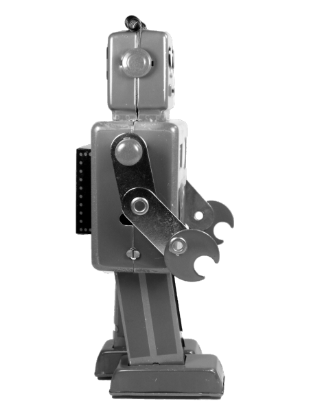 QSH_Tin_Wind_Up_Mechanical_Robot_(Giant_Easelback_Robot)_Sidebb
