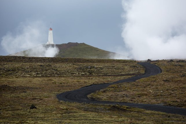 Reykjanes Lighthouse. Build in 1929, 31m height.