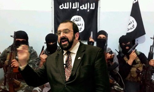 Islamophobe Robert Spencer Claims Young Leftist Poisoned Him