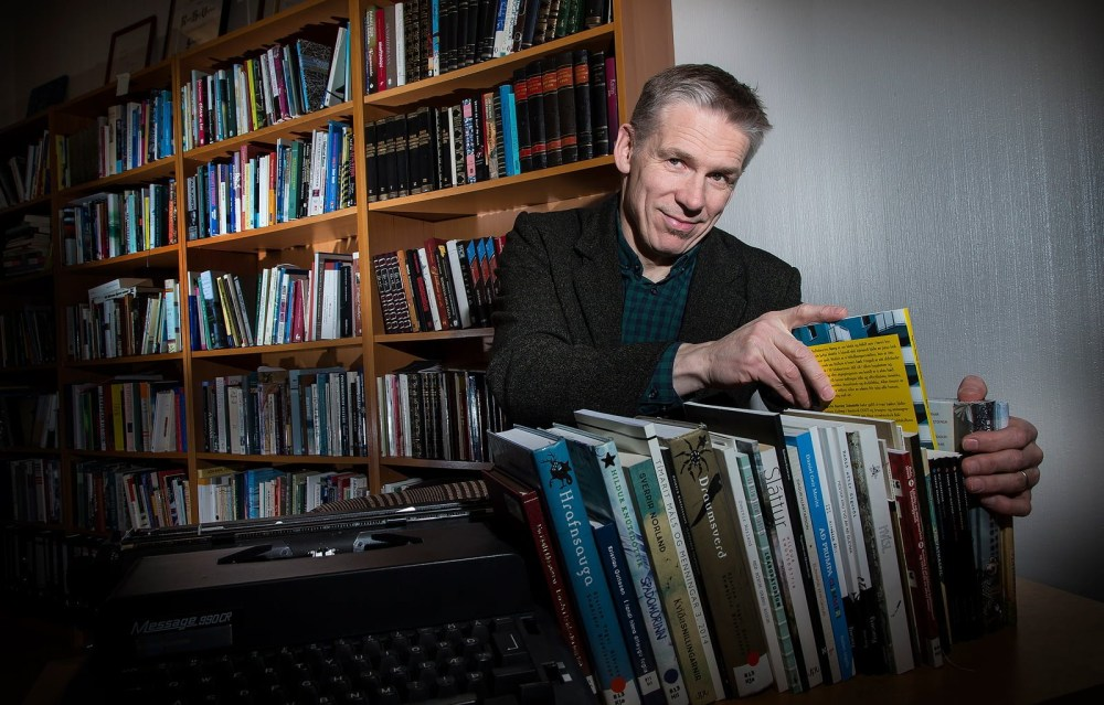 "Rúnar Helgi Vignisson: ""The Mountains Wrote My Books"""
