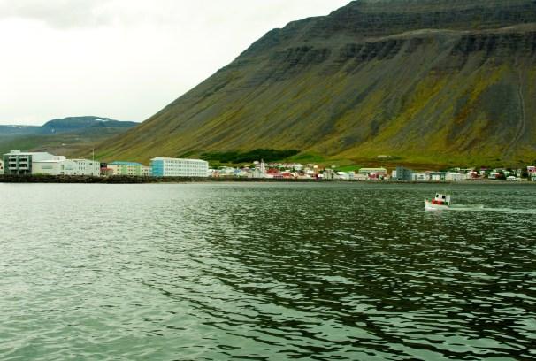 Ísafjörður by Julia Staples