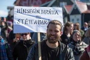 Samtökin '78 march by Art Bicnick