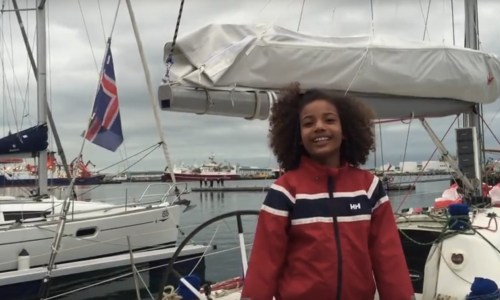 9-Year-Old Girl Will Sail Around Iceland