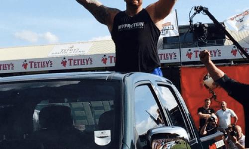 Hafþór Júlíus Europe's Strongest Man