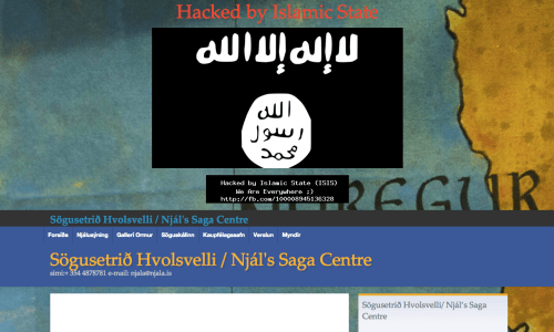 Icelandic Museum Website Supposedly Hacked By ISIS