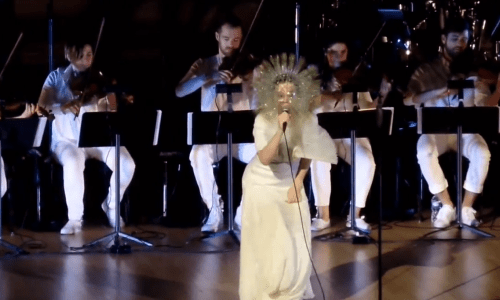 Video: Björk Performs Stonemilker At Carnegie Hall