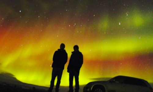 PHOTOS: Spectacular Aurora Display Last Night
