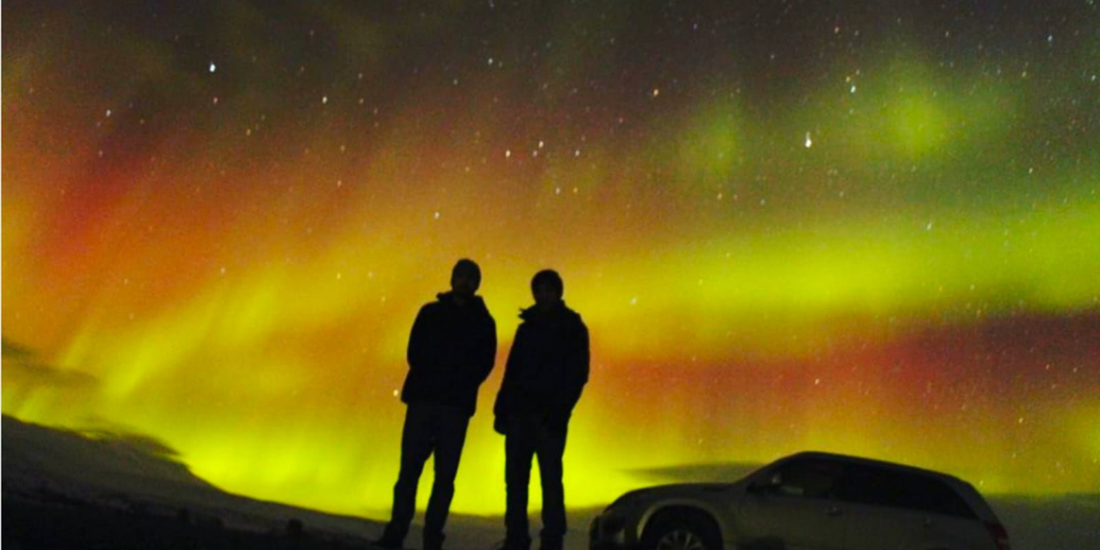 PHOTOS: Spectacular Aurora Display Last Night