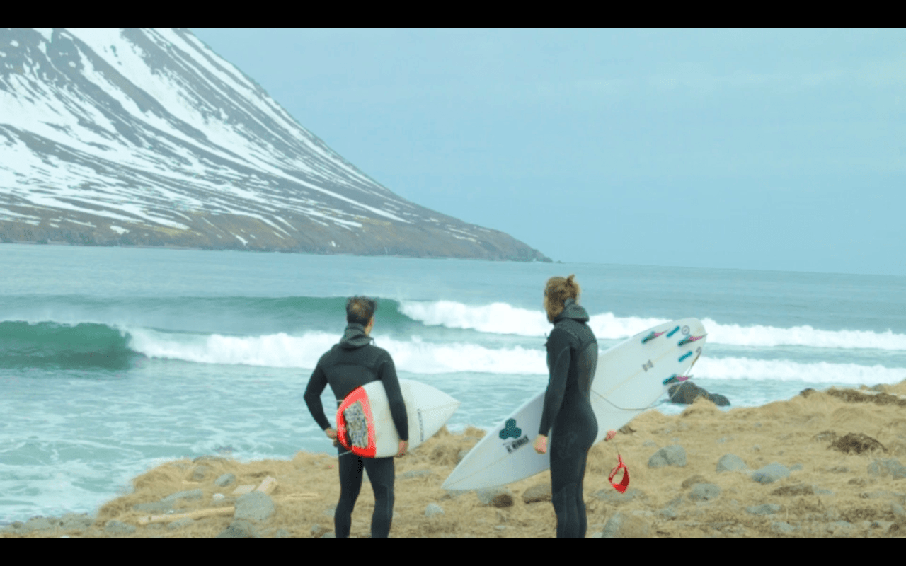Surf's Up In Iceland – VIDEO