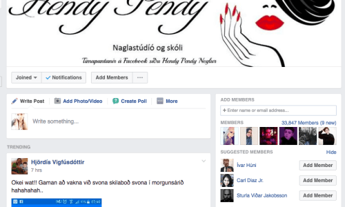 Icelandic Facebook Groups: Beauty Tips!