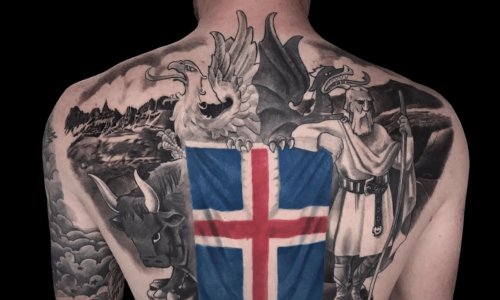 #SmiteTheWorld: Aron Einar Explains Epic Iceland Tattoo