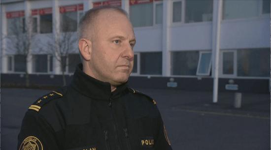 Sveinn Rúnar Kristjánsson, chief of police in Suðurland