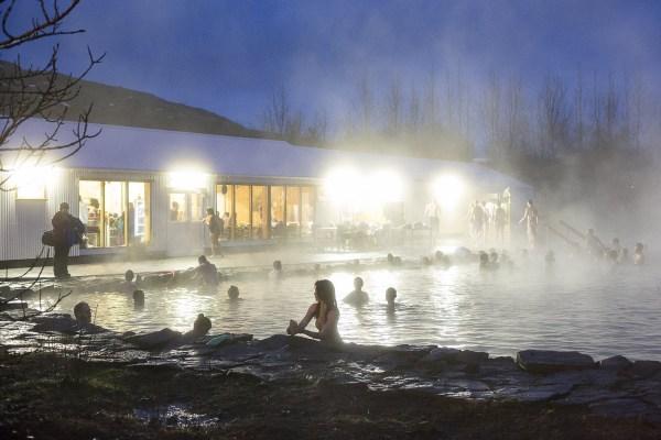south iceland best bathing spot secret lagoon