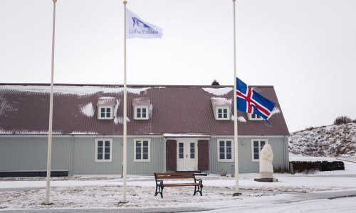 """Home Of Leifur Eiríksson"" Mourns Beginning Of Trump Presidency"