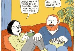 Comic By Lóa Hjálmtýsdóttir