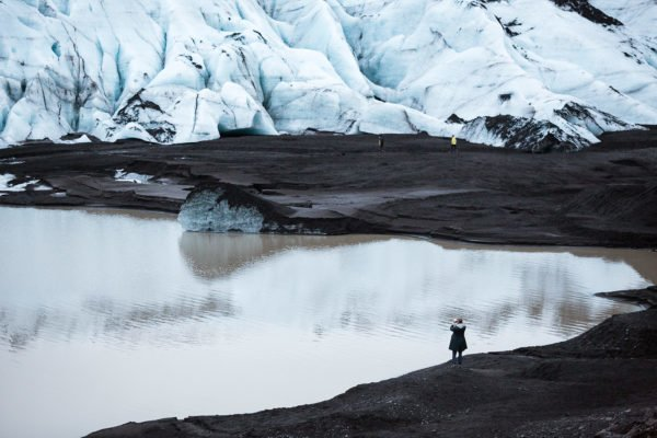 Solheimajokull by Art Bicnick