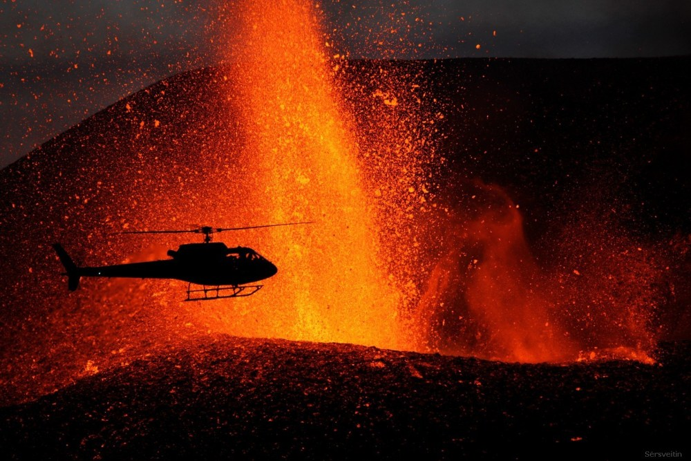 Stunning New Eruption Photos
