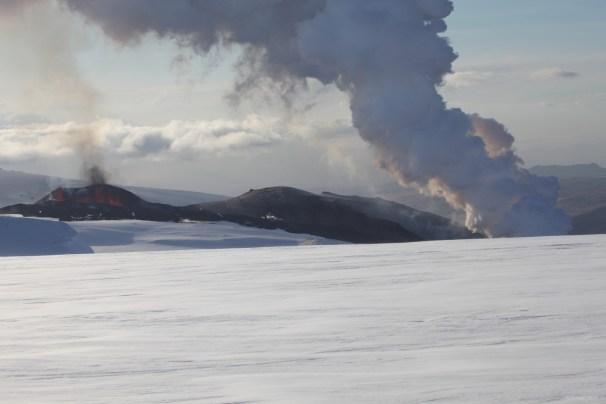 Þröstur Eyjafjallajökull 2