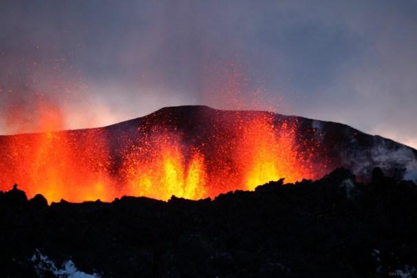 Þröstur Eyjafjallajökull 5