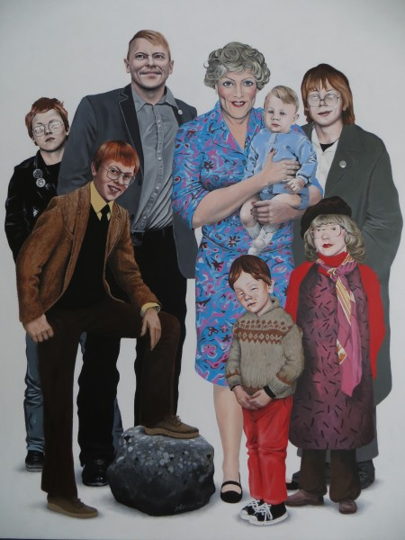 The Gnarr Family by Hallgrímur Helgason