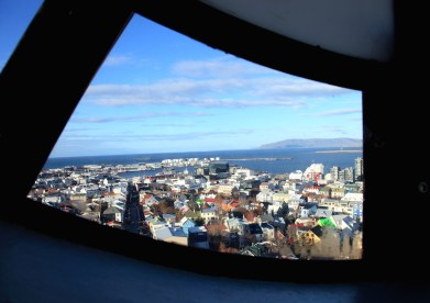 Hallgrímskirkja, view from tower